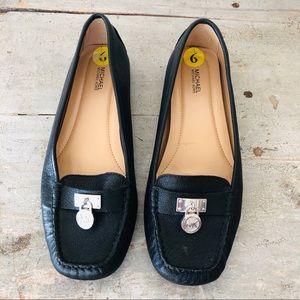 ♥️ Michael Kors ♥️ Black Leather Loafers